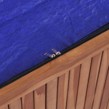 Ulkosäilytyslaatikko 120x50x58 cm tiikki