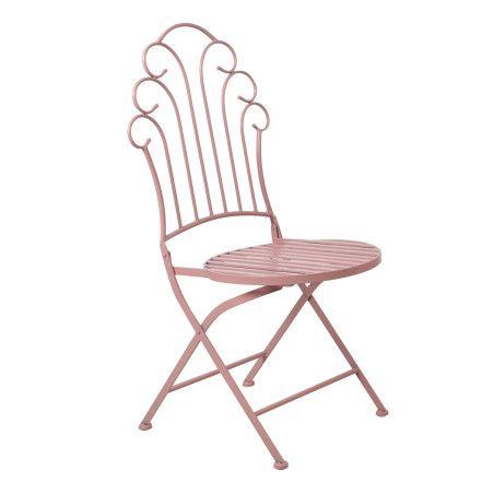 Tuoli, Rosy taitettava, pinkki 2 kpl