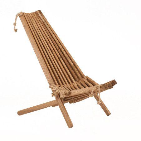 Puutarhatuoli EcoFurn Ekotuoli Saarni Ruskea