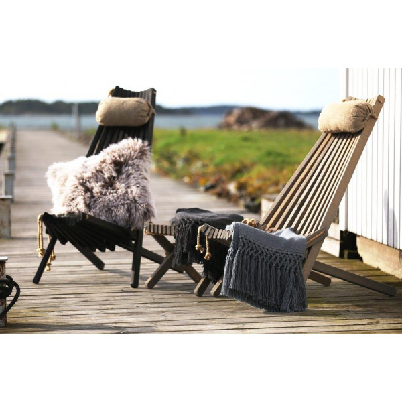 Puutarhatuoli EcoFurn Ekotuoli Saarni Harmaa