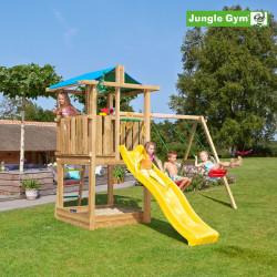 Jungle Gym Hut...