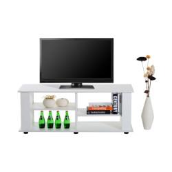 Matala TV-pöytä, valkoinen