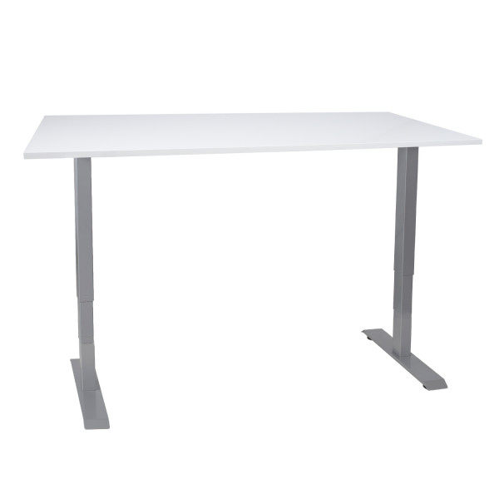 Työpöytä ERGO 2, 140 x 80 cm valkoinen