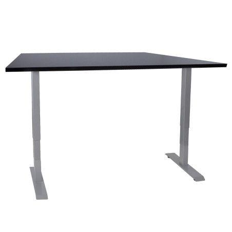 Työpöytä ERGO 2, 140 x 80cm musta