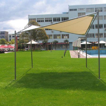 Paviljonki SUN SAIL 4 m x 4 m x K 2,085/2,695m