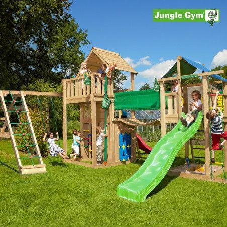 Jungle Gym Leikkiuniversumi 2, kokonaisuus sisältäen liukumäet