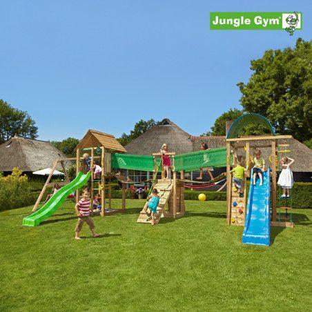Jungle Gym Leikkiuniversumi 3, kokonaisuus sisältäen liukumäet