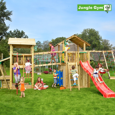 Jungle Gym Leikkiuniversumi 4, kokonaisuus sisältäen liukumäet