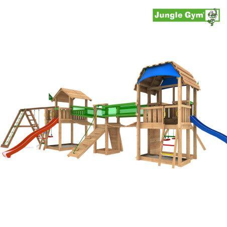 Jungle Gym Leikkiuniversumi 8, kokonaisuus sisältäen liukumäet
