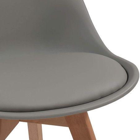 Ruokapöydän tuolit pehmusteella, 2kpl 4 Eri väriä