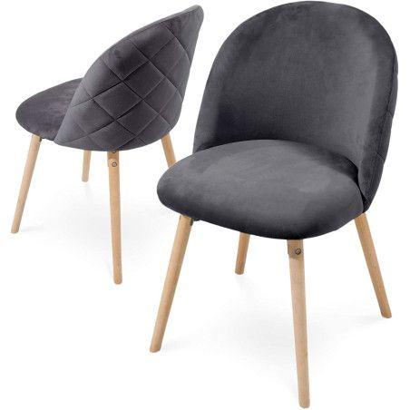 Ruokapöydän tuolit Sametti, 2kpl Useita eri värejä