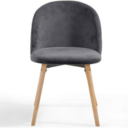 Ruokapöydän tuolit Sametti, 6kpl 4 eri väriä