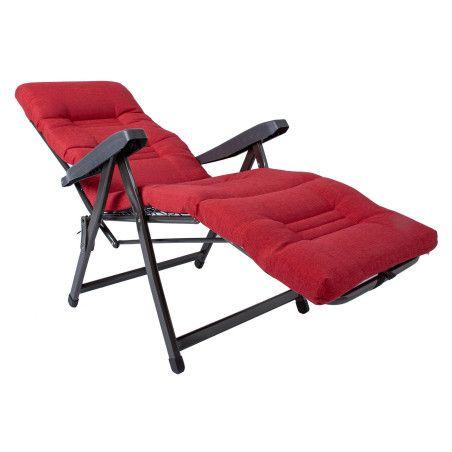 Puutarhatuoli Cervino, punainen