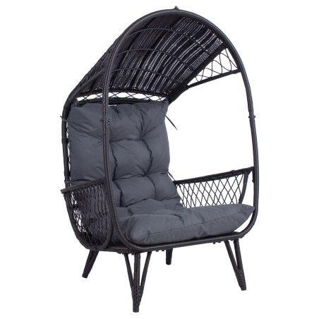 Puutarhatuoli Tanja, tummanruskea