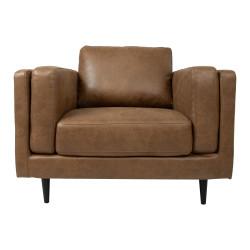 LISBON Nojatuoli , ruskea