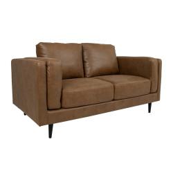 LISBON sohva, ruskea 165x92cm