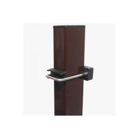 Ruskea Nelikulmainen aitatolppa 40x60, 4 eri korkeutta