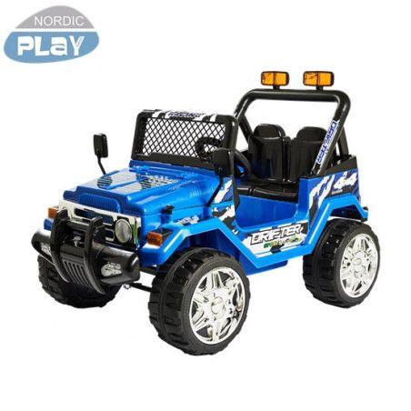 Sähköauto Offroader Nordic Play, sininen tai musta