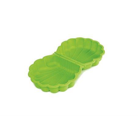 Hiekkalaatikko simpukankuori, vihreä
