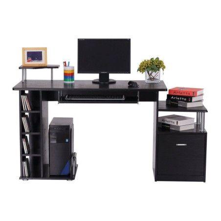 Tietokonepöytä (musta)