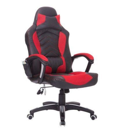 Hierova tietokonetuoli (Musta/Punainen)