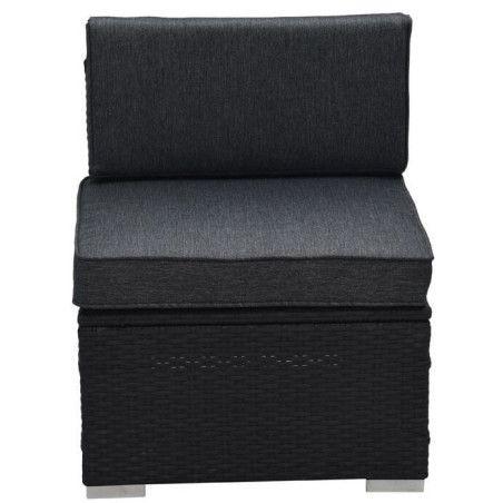 ELLEN2 Istuin ( lisäpala ) 58x68x64, Musta