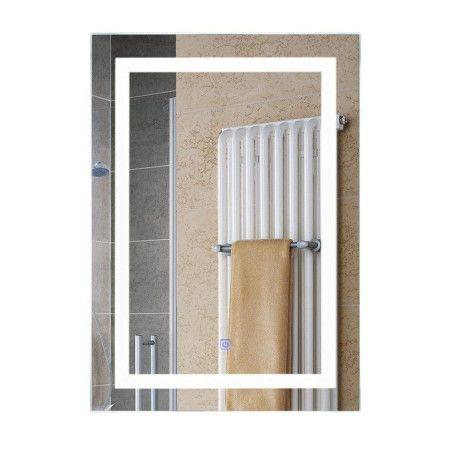 Kylpyhuoneen peili LED-valoilla 50 x 70 cm