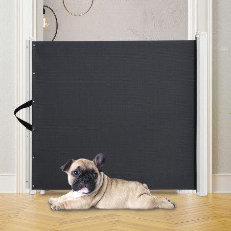 Rullattava koiraportti, tumman harmaa