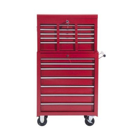 Työkalukaappi (punainen)