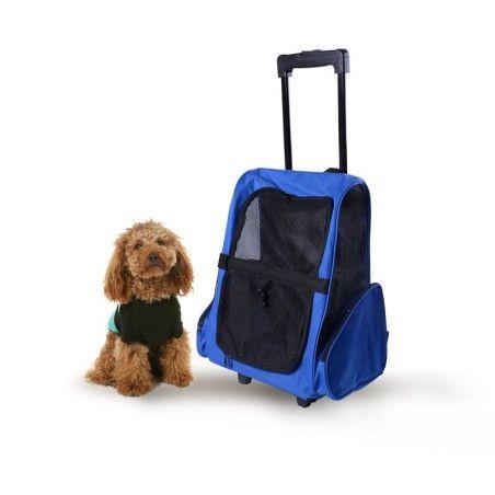 Koiran 2 in 1 kuljetuskassi (sininen)