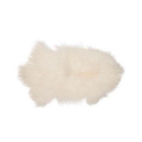 Tiibetin lampaannahkatalja (Valkoinen)