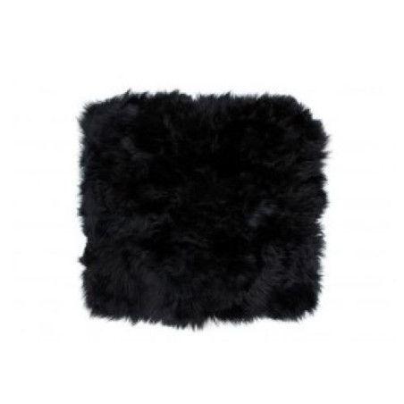 Lampaannahka istuin (Musta)