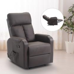 Muhkea hierova nojatuoli