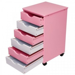Vaaleanpunainen laatikosto