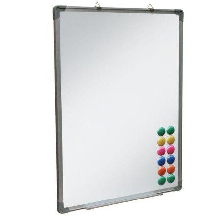 Magneettipintainen valkotaulu 110 x 80 cm