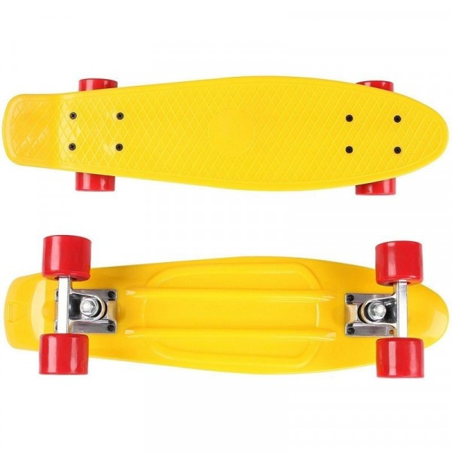 Retro skeittilauta - keltainen
