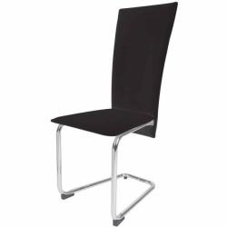 Ruokapöydän tuolit 2kpl, musta