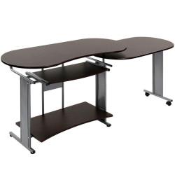 Kulmatietokonepöytä 1...