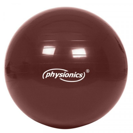 Jumppapallo 95 cm, punaruskea