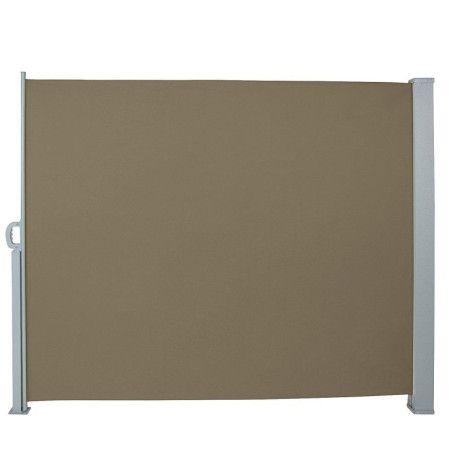 Seinämarkiisi 160 x 300 cm, Ruskea