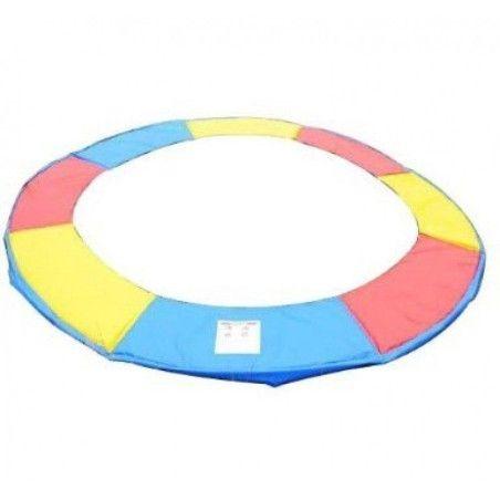 Värikäs trampoliinin reunanpäällys Ø 244cm