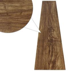 PVC Lattiapaneeli, tumma puu