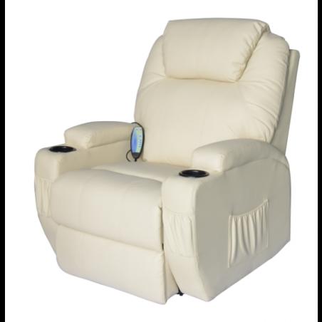 Nojatuoli ( kermanvalkoinen)