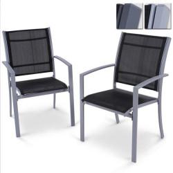 Metalliset puutarhatuolit 2...