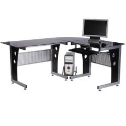3-osainen tietokonepöytä...