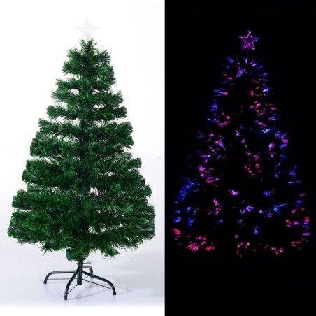 Joulukuusi valoilla ja jalustalla 120 cm