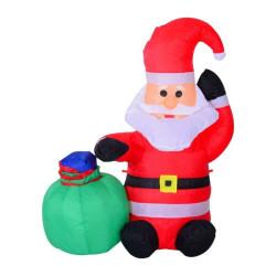 Puhallettava joulupukki