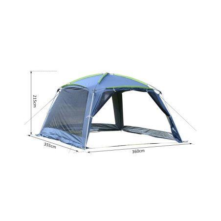 Outsunny teltta 5-8 hengelle, Tummansininen
