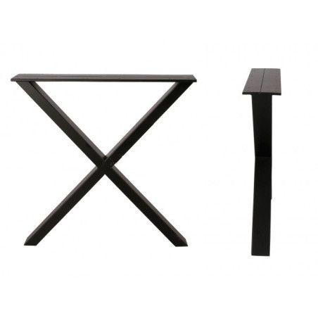 X-jalat lankkupöytään