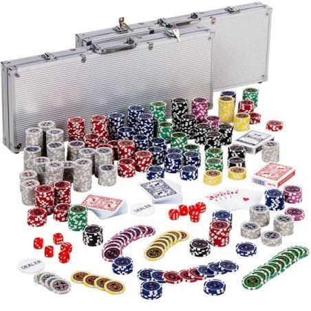 Pokerisetti 1000 pelimerkkiä